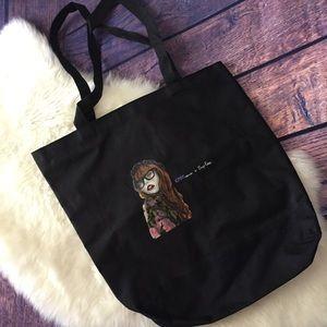 Handbags - Chictopia Black Shopper Tote Bag